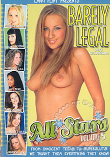 Barely Legal All Stars Volume 5 Box Cover - Login to see Back