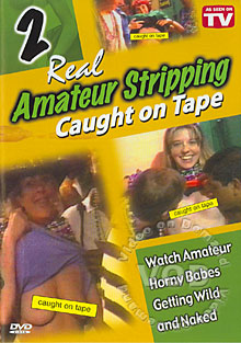 Real Amateur Stripping Caught On Tape 2 Box Cover