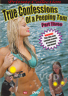 True Confessions Of A Peeping Tom Part Three Box Cover