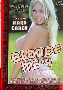 Blonde Me #4 Box Cover