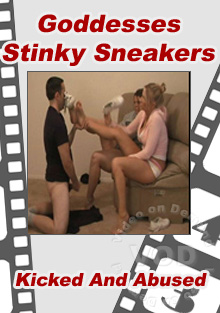 Goddesses Stinky Sneakers Box Cover