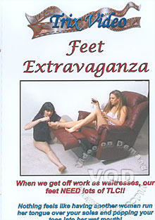 Feet Extravaganza Box Cover
