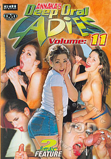 Annaka's Deep Oral Ladies Volume 11 Box Cover