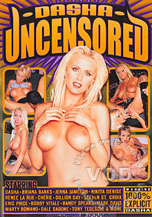 Dasha Uncensored Box Cover