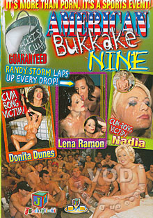 American Bukkake 9 Box Cover