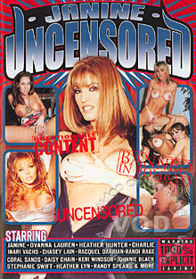 Janine Uncensored Box Cover
