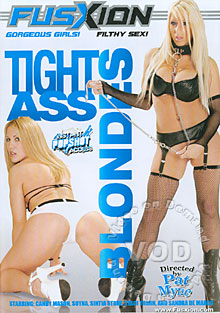 Tight Ass Blondes Box Cover