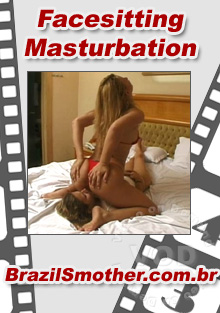 Facesitting Masturbation Box Cover