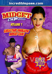Midget Cum Volume 1 Box Cover