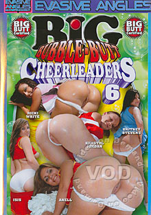 Big Bubble-Butt Cheerleaders 6 Box Cover