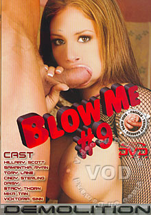 Blow Me #9 Box Cover
