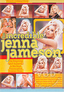 The Incredible Jenna Jameson Box Cover