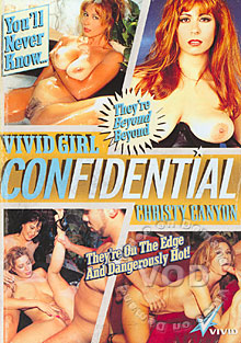 Vivid Girl Confidential - Christy Canyon Box Cover