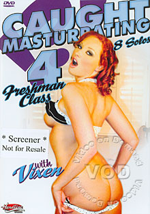 Caught Masturbating 4 Box Cover