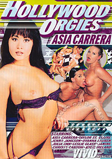 Hollywood Orgies - Asia Carrera Box Cover