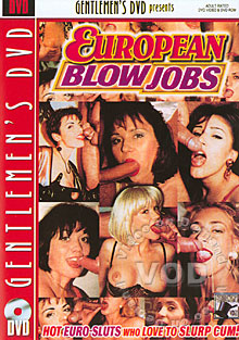 European Blow Jobs Box Cover