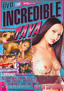 The Incredible Taya Box Cover