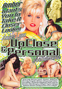 Amber Lynn - Up Close & Personal Box Cover