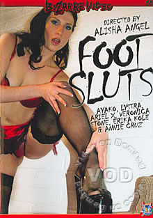 Foot Sluts Box Cover