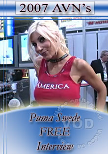 2007 AVN Interview - Puma Swede Box Cover