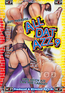All Dat Azz 9 Box Cover