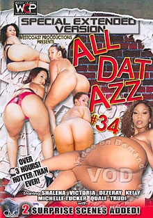 All Dat Azz 34 Box Cover