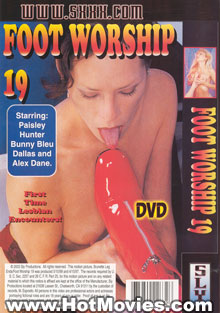 Foot Worship 19 Box Cover