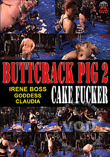 Buttcrack Pig 2 - Cake Fucker Box Cover
