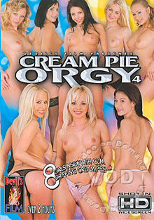 Cream Pie Orgy 4 Box Cover