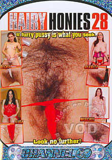 Hairy Honies 28 Box Cover