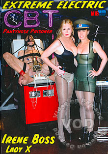 Extreme Electric CBT Pantyhose Prisoner Box Cover