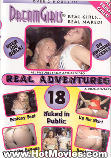 Real Adventures 18 Box Cover