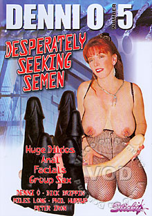 Denni O Number 5 - Desperately Seeking Semen Box Cover