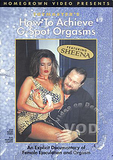 How To Achieve G-Spot Orgasms Box Cover