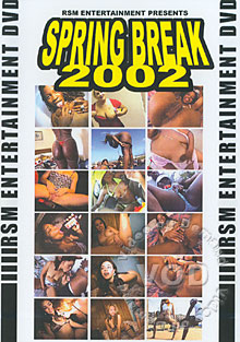 Spring Break 2002 Box Cover