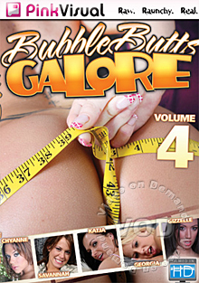 Bubble Butts Galore Volume 4 Box Cover