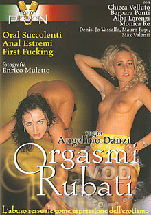 Orgasmi Rubati Box Cover