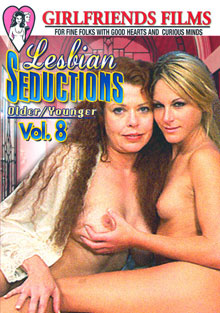 Lesbian Seductions Older/Younger Vol. 8 Box Cover