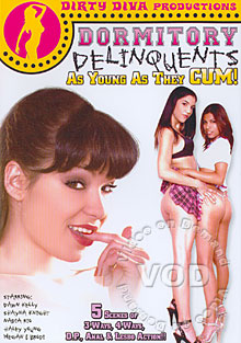 Dormitory Delinquents - As Young As They Cum! Box Cover