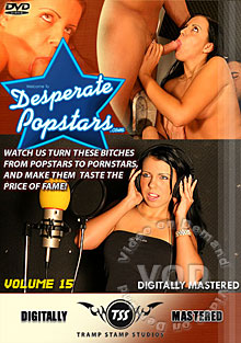 Desperate Popstars Volume 15 Box Cover