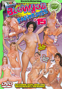 Blowjob Fantasies #15 Box Cover
