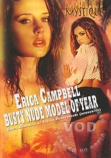 Erica Campbell - Busty Nude Model Of The Year Box Cover