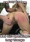 Video: Bad Girl Spankings: Lazy Tramps