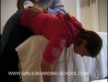 spanking Videos - over his knee