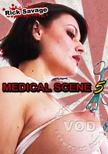 Rick Savage Medical Fetish Scene 5 Box Cover
