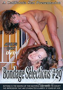 Bondage Selections 29 Box Cover