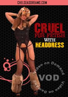 Cruel Fur Fetish With Headdress Box Cover