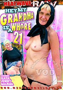 Hey My Grandma Is A Whore 21 Box Cover