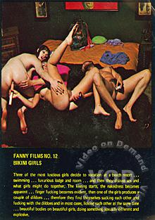 Fanny Films 12 - Bikini Girls Box Cover