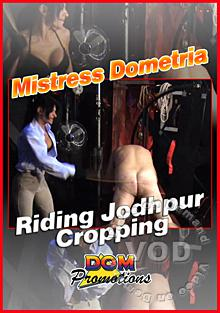 Mistress Dometria - Riding Jodhpur Cropping Box Cover